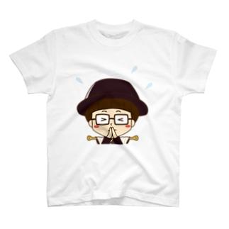 カーテンマンJr.(ごめん)のTシャツ T-shirts