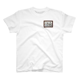 30〜50歳のおじさんたち T-shirts