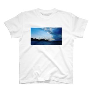 瀬戸のアオ+ハシ T-shirts
