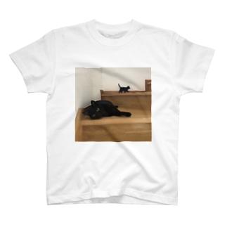 黒猫ちゃんのつどい T-shirts