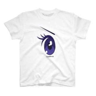 Cartoon Eye T-shirts