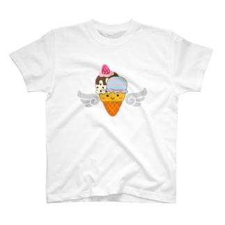 フォトジェニックなアイスクリームさん T-shirts