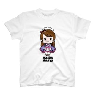 【もののぷ】前田まあや T-shirts