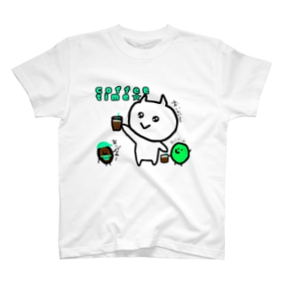ねこちゃんと豆ちゃん T-shirts