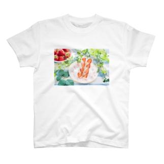 いちごサンド T-shirts