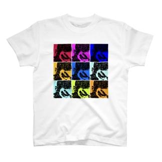 デンジャラス・カラフルT T-shirts