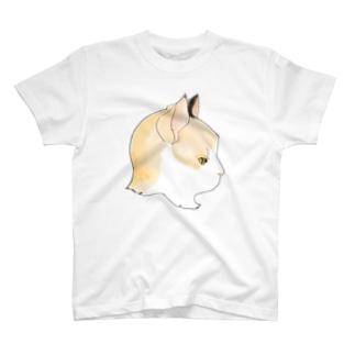 三毛猫のよこがお T-shirts