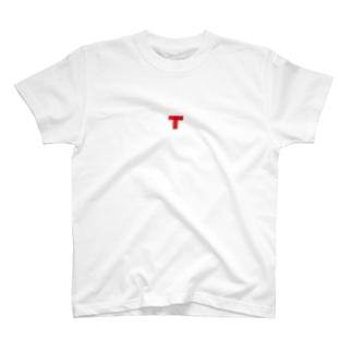 バミリ(赤) T-shirts