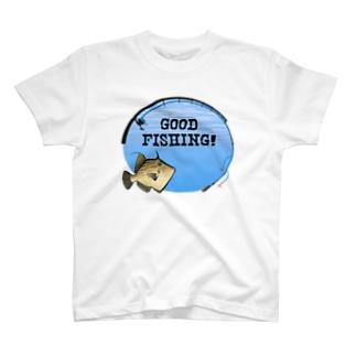 カワハギ_1_C T-shirts