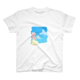 しゃぼんだま Tシャツ T-shirts