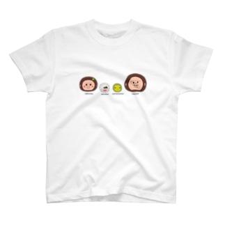 UMAくんと仲間たち(カラー) T-shirts