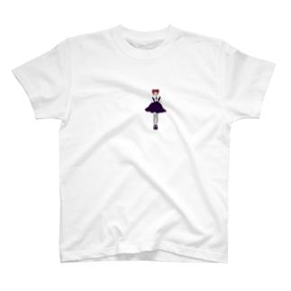 縦巻きのおんな T-shirts