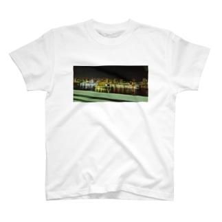 ある日の思い出の夜景 T-shirts