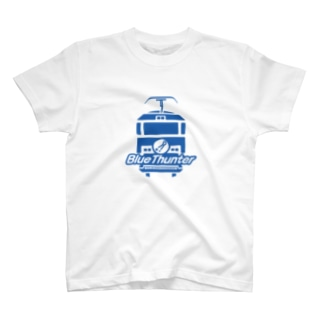 隅田川クリーン貨物bluethunter公式グッズ T-shirts