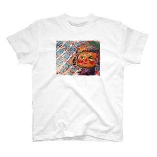 どっかみてる T-shirts