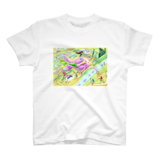 テコリン鳥 T-shirts