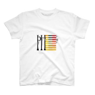 pH試験紙 T-Shirt