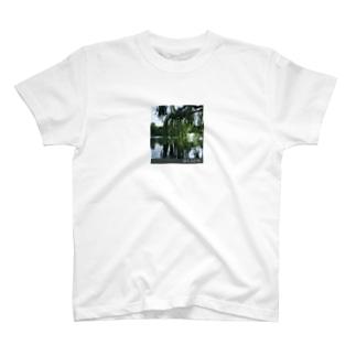 井の頭公園で待ち合わせ。文字入りver. T-shirts