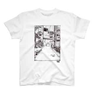 ここに繋がるのか T-shirts