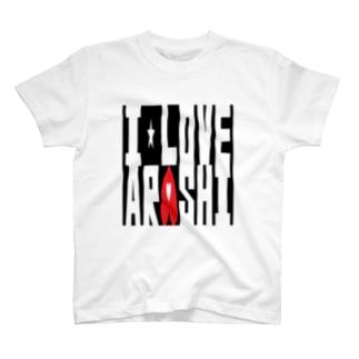 I Love Arashi. T-shirts
