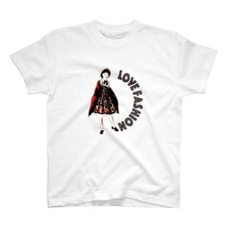 おしゃれ大好き少女 T-shirts