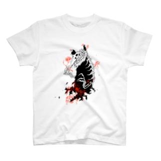 大トリ小トリ(薄い色背景用) T-shirts