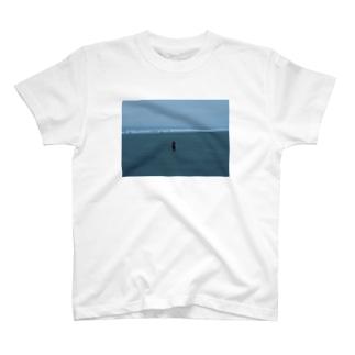 九十九里浜にて T-shirts