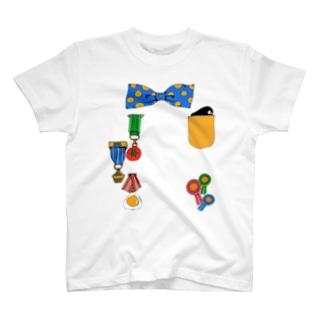 えらくなれるTシャツ(あお) T-shirts