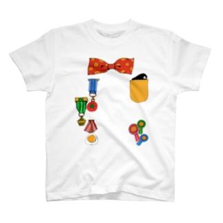 えらくなるTシャツ(あか) T-shirts
