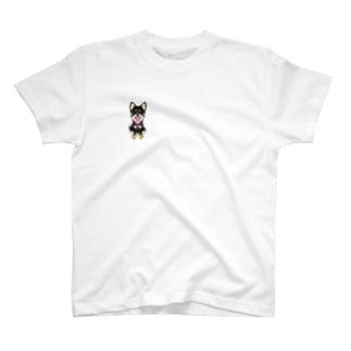 黒柴ココちゃん T-shirts