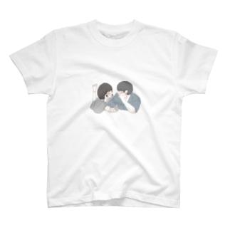 リア充タヒタヒ T-shirts