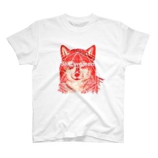 LIBERTE wolf T-shirts