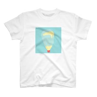 のこりわずかなマヨネーズ T-shirts