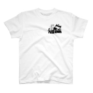 フウドタウンロゴ T-shirts