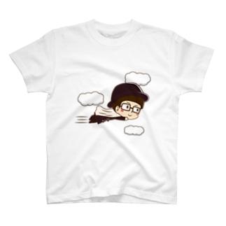 カーテンマンJr.(ピューン)のTシャツ T-shirts