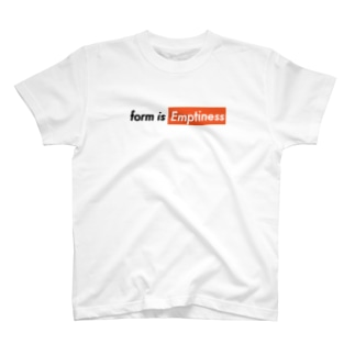 EMPTINESS T-SHIRT T-shirts