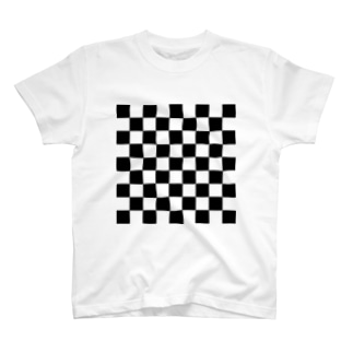 チェッカーフラッグ T-shirts