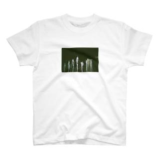 夜の噴水 T-shirts