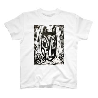 Buchi-Gami woodcut T-shirts