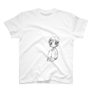 さんかく すわり T-shirts