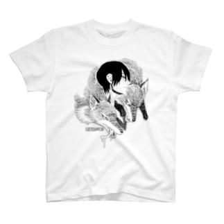 狐と男の子 T-shirts
