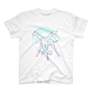 荒ぶるキリン T-shirts