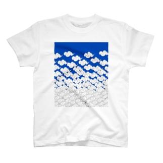 puticaの雲外蒼天 剣道 T-shirts