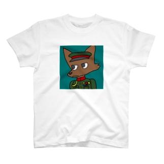 るかりおるの軍服ケモノ(大日本帝国時代の陸軍) T-shirts