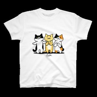 PygmyCat suzuri店の癒してあげ隊 Tシャツ