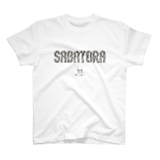 SHOP W SUZURI店のSABATORA Tシャツ。 T-shirts
