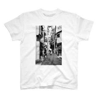 千駄木の住宅地 T-shirts