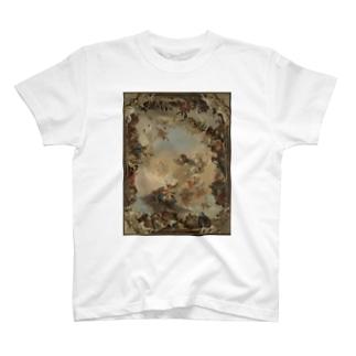 【世界の名画】ティエポロ『惑星と大陸の寓意画 』 T-shirts