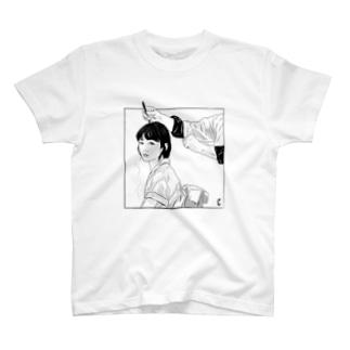 亜麻色の髪の乙女 T-shirts