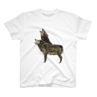 オオカミ T-shirts